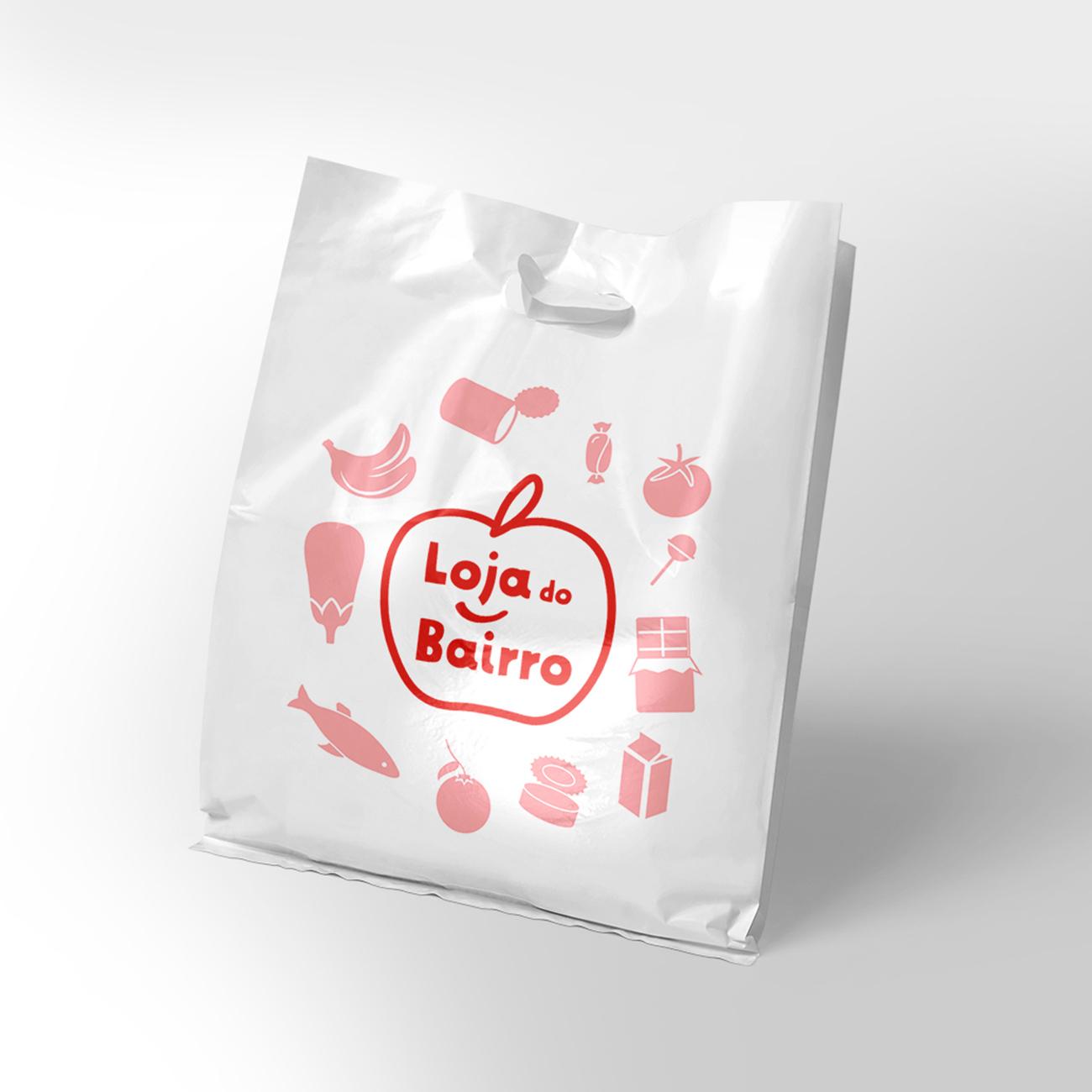Logotipo em saco