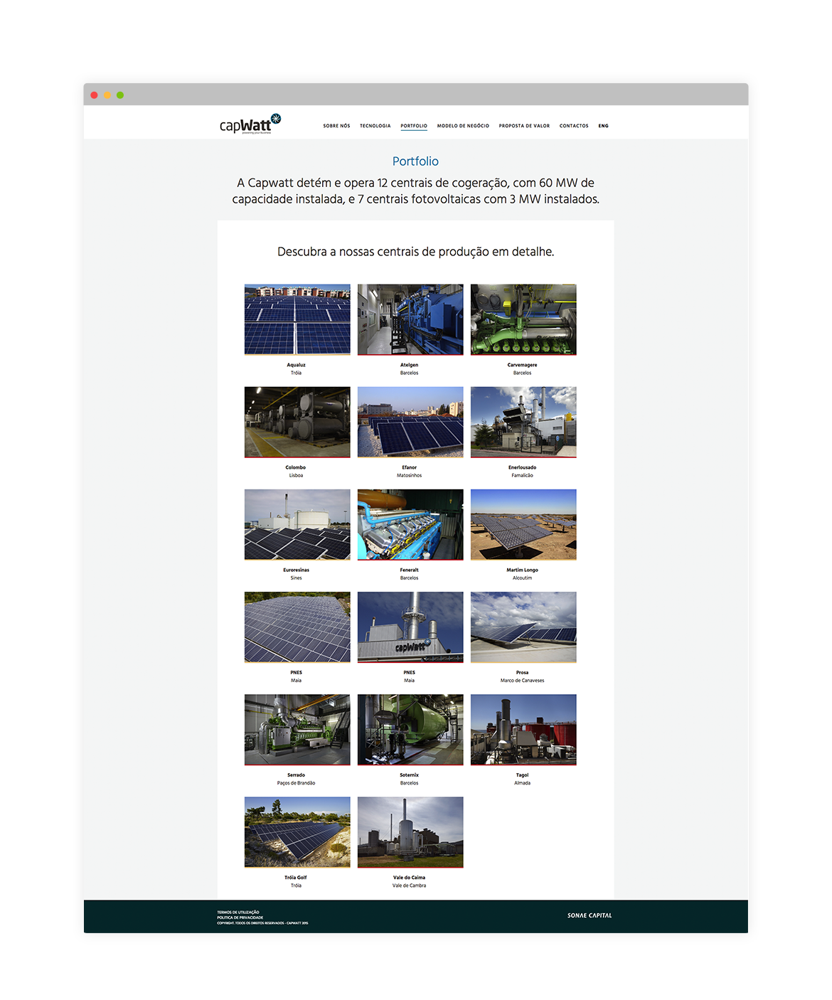 capwatt Website