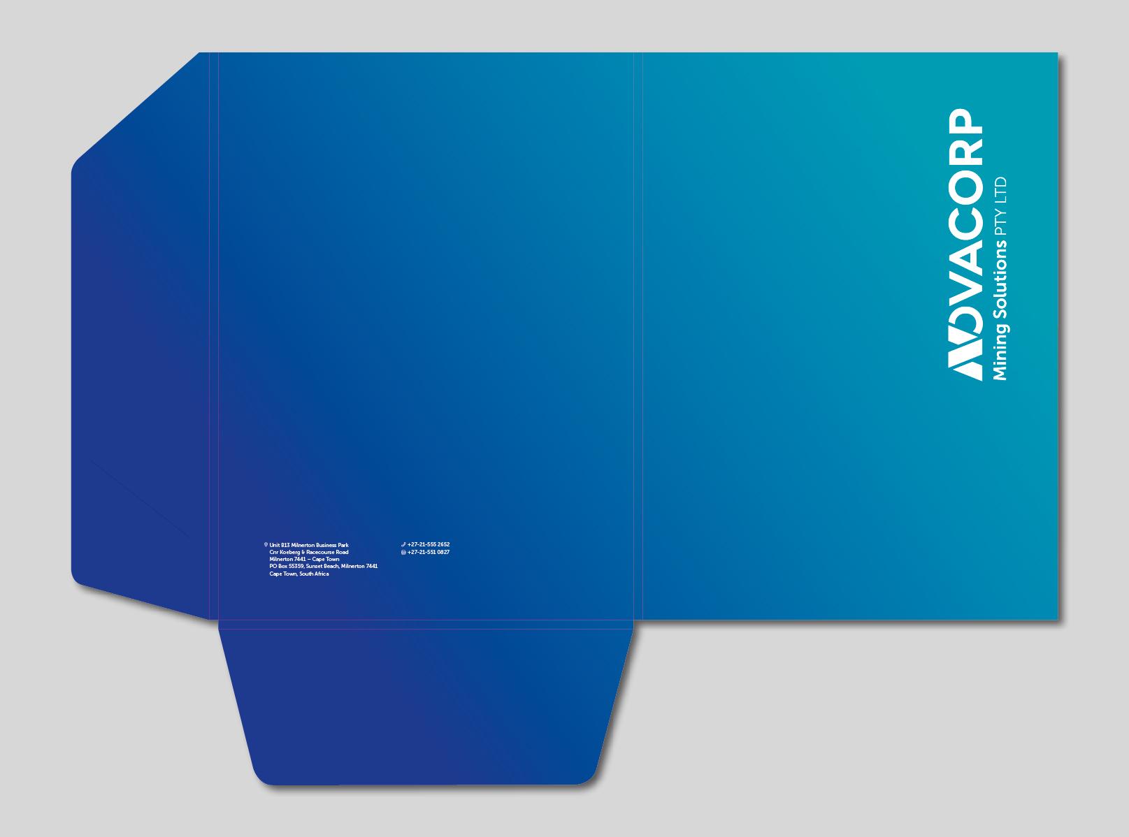 design gráfico Novacorp