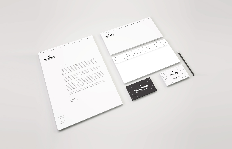 design gráfico O Miolinho