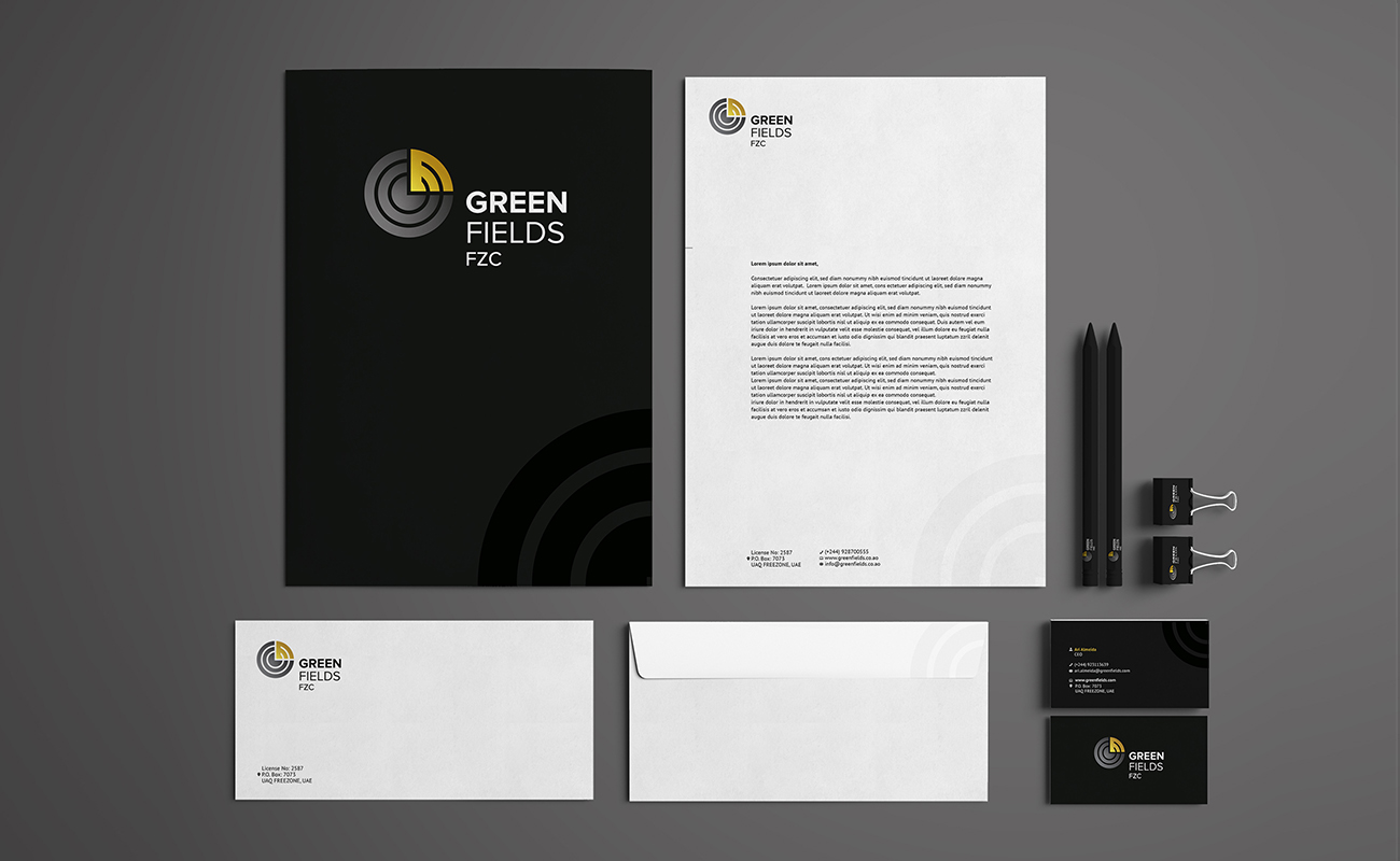 design gráfico Greenfields