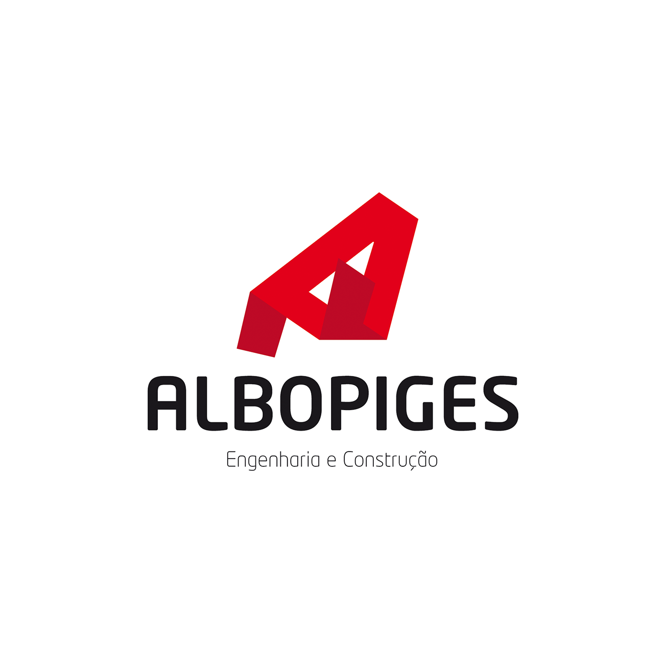 Logotipo albopiges engenharia e construção