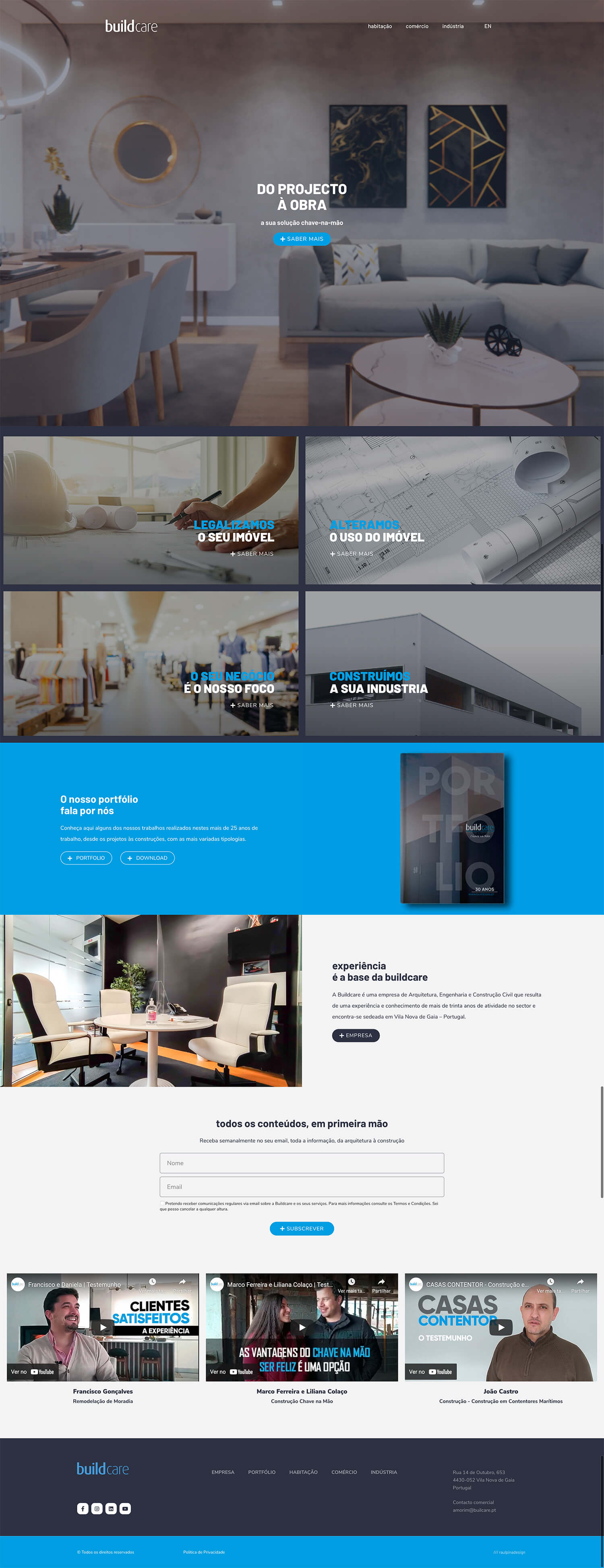Buildcare . raulpinadesign