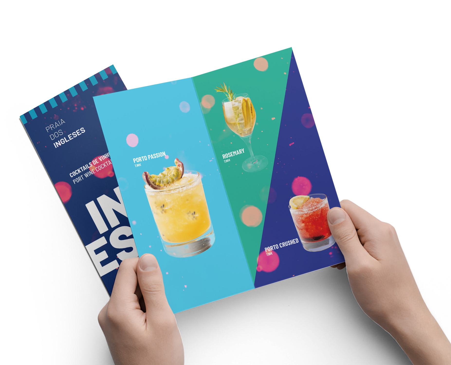 design de menus bar