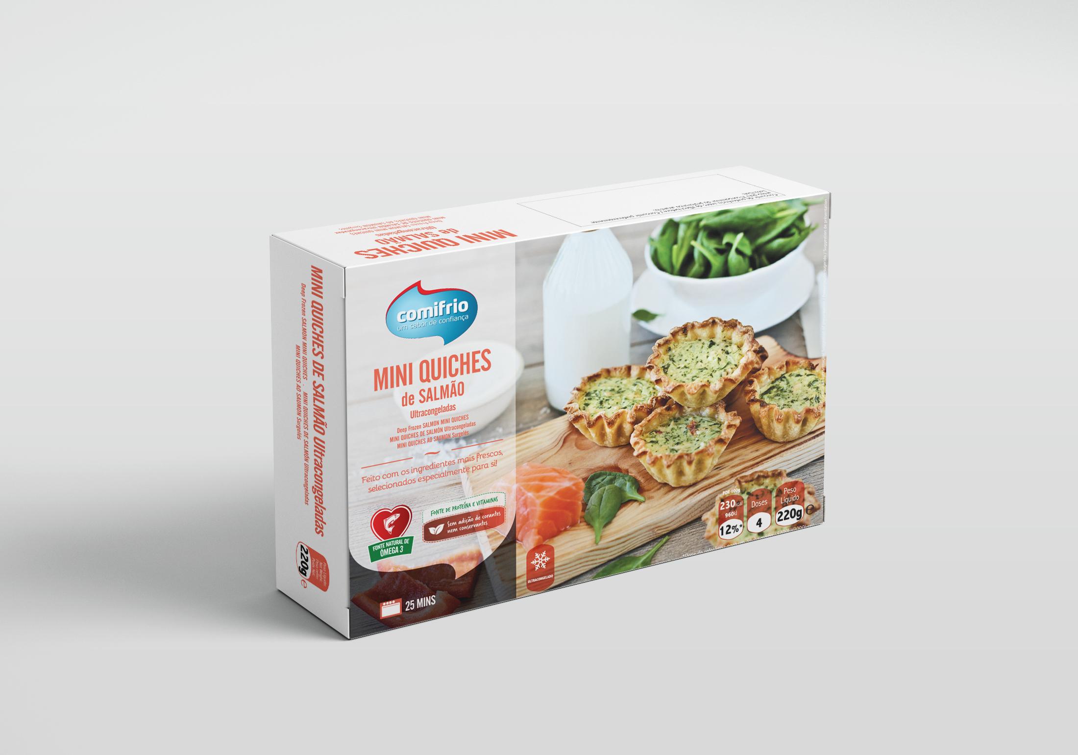 Embalagem produtos alimentares congelados
