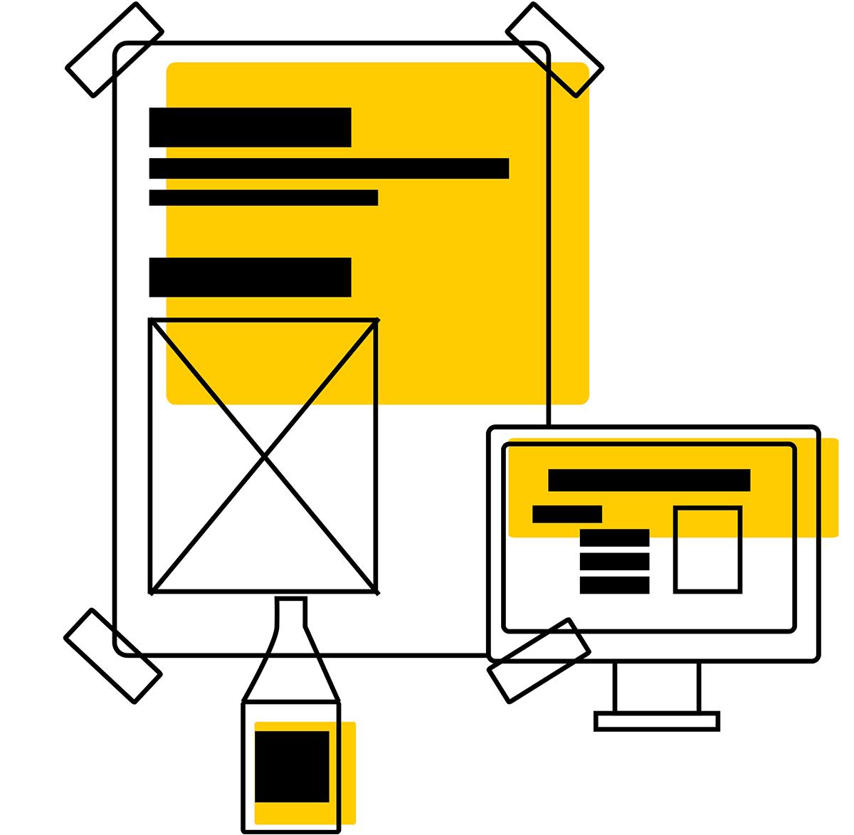 design gráfico O estúdio de design gráfico - logotipo - Webdesign