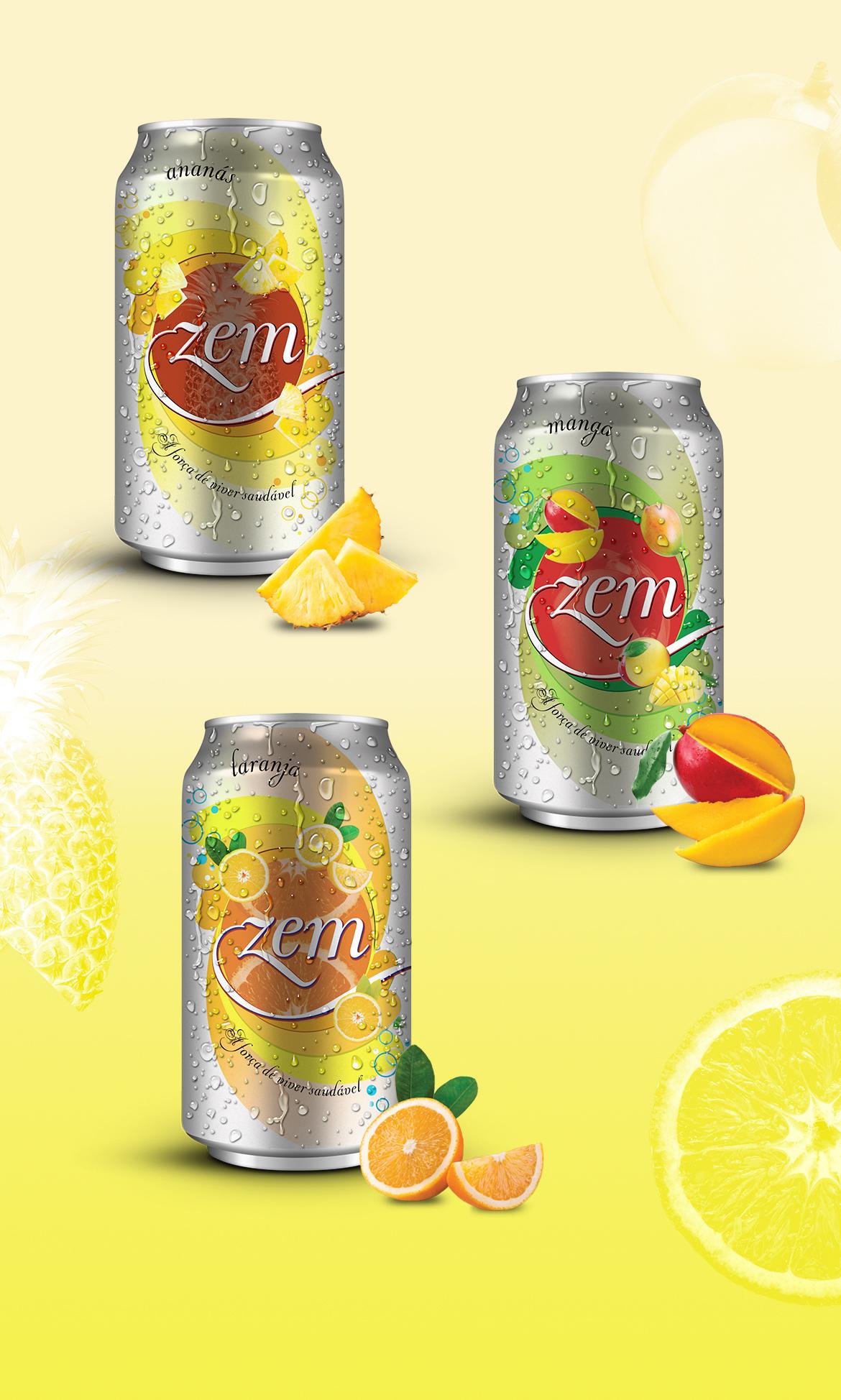 packaging lata refrigerante