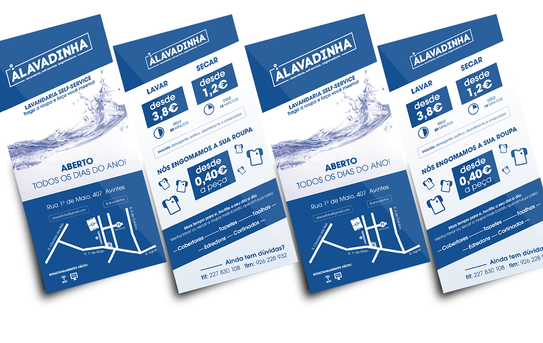 flyers lavandaria