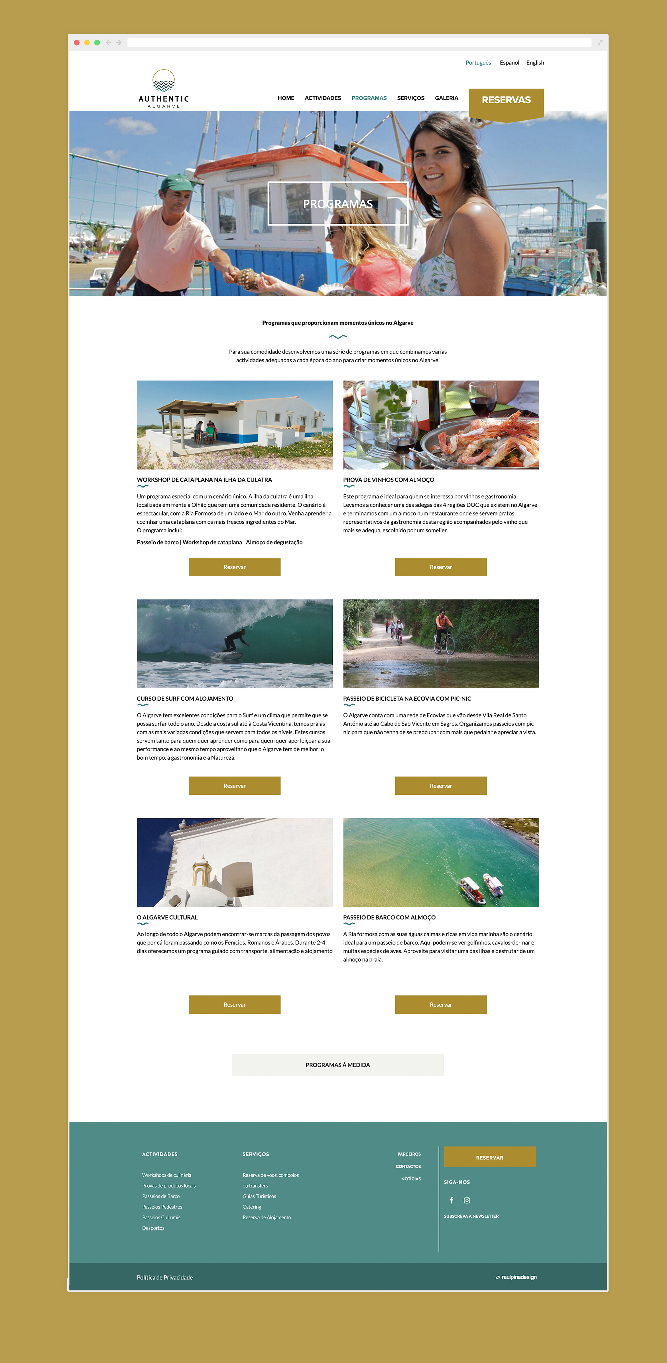 Website authenticalgarve alojamento hotel