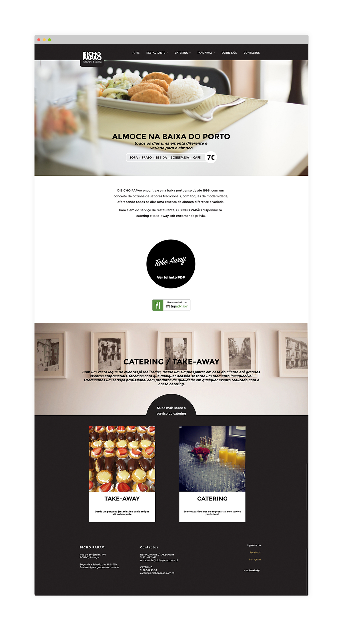 Website restaurante