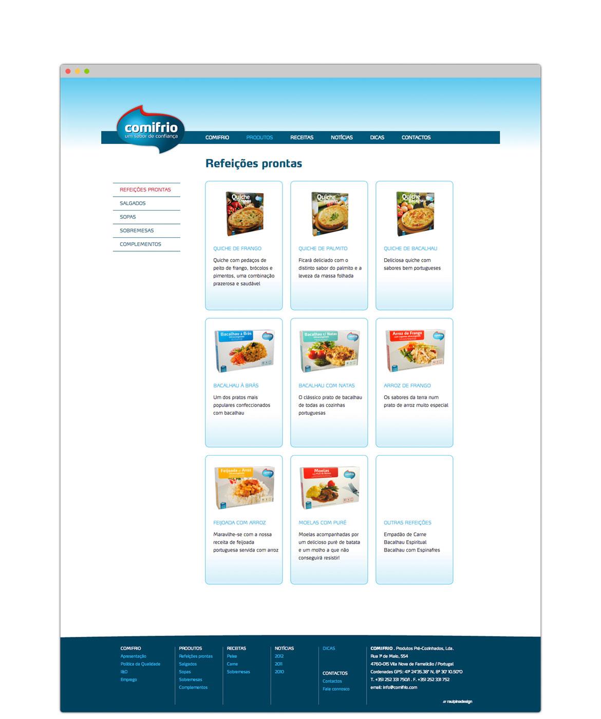 Website comifrio