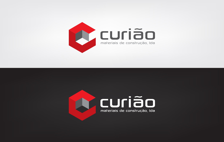 Logotipo materiais de construção . curiao