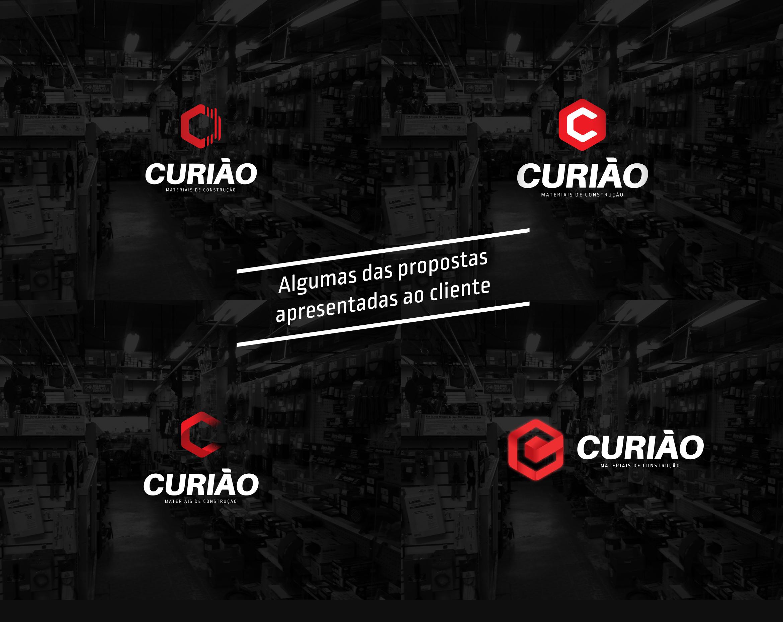 Propostas de logotipo empresa materiais de construção curiao