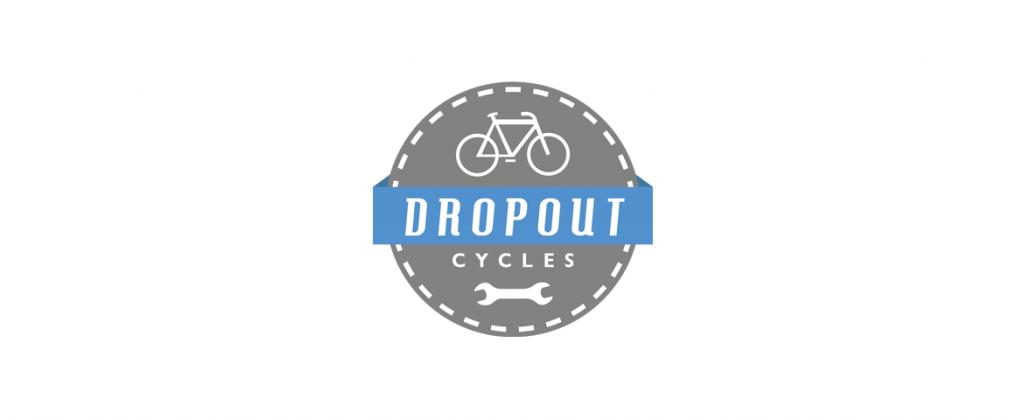 Logotipo Loja bicicletas dropout