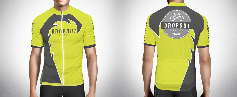 Roupa equipamento ciclismo dropout