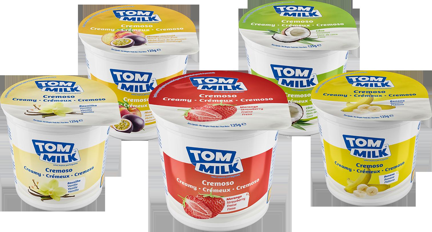 design gráfico Bolos, bolachas e iogurtes.