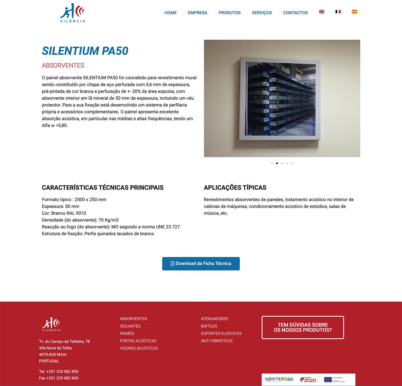 design gráfico silentium